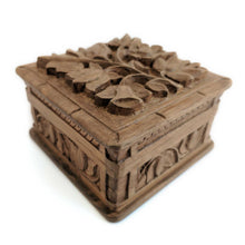 Load image into Gallery viewer, Wooden Secret Box made from Walnut Wood