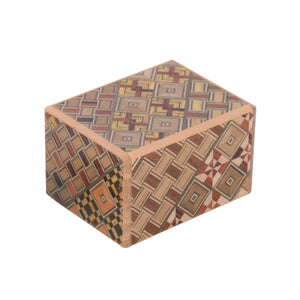 Yosegi Puzzle Box 7 Steps