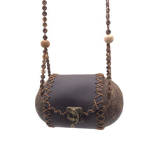 Load image into Gallery viewer, String Bag hand-crafted from coconut shells