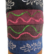 Load image into Gallery viewer, Yoga Mat Bag Printed Pattern with hand-embroidery