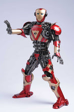 Load image into Gallery viewer, Avengers Iron Man metal action figure hand-crafted from junk auto parts with attention to detail