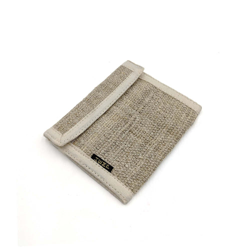wallet made from 100% pure hemp