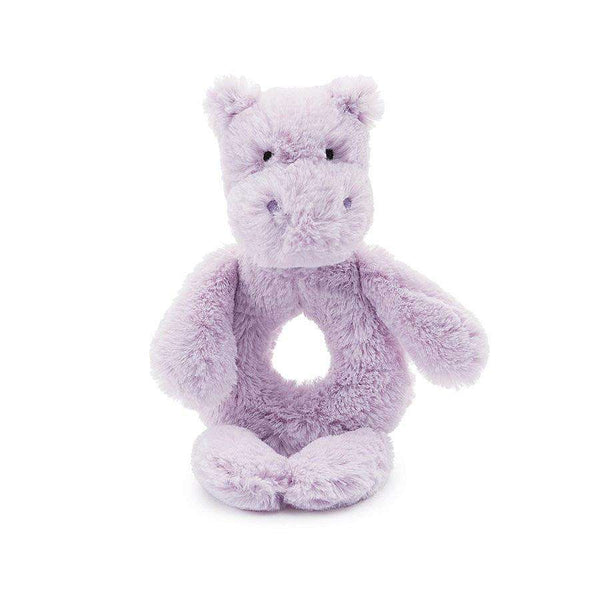 Jellycat Bashful Hippo Rattle Ring