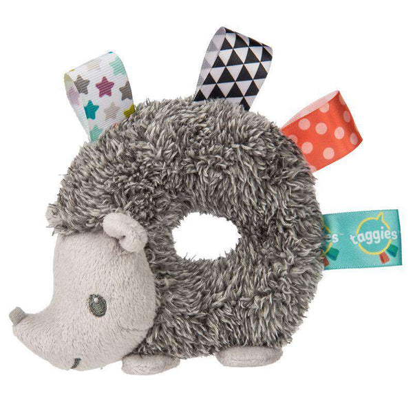 "Taggies | Heather Hedgehog Collection ~ 5"" Rattle"