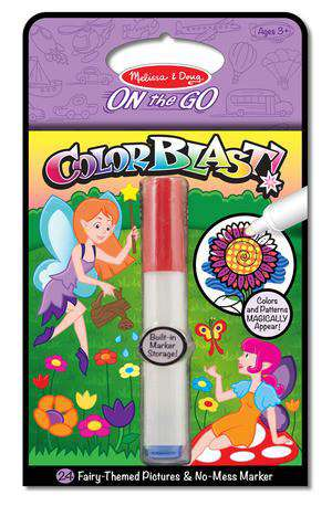 Melissa & Doug | On the Go Color Blast | Fairies