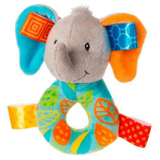 Taggies | Rattle Little Leaf Elephant