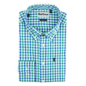 Bruce Tailored Fit Button Down in Navada Green