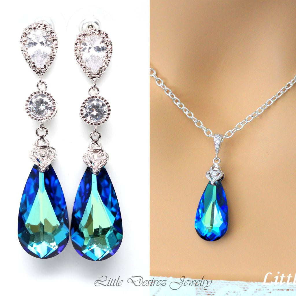 Blue Jewelry Set BB-33