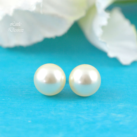Swarovski Pearl Stud Earrings P44S