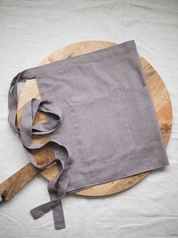 Lilac Linen Apron - Limited Edition