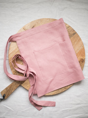 Rose Linen Apron - Limited Edition