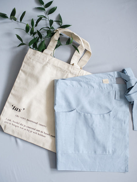Tas Eco Cotton Tote by Pakkembeet