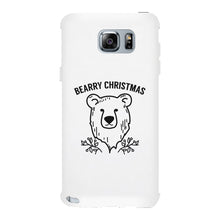 Bearry Christmas Bear White Phone Case