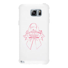 Warrior Breast Cancer Awareness White Phone Case