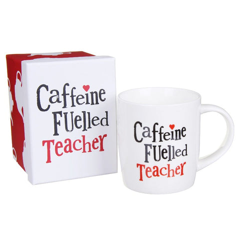 "Teacher Mug ""CAFFEINE FULLED TEACHER"""