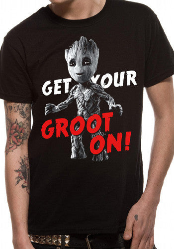 Get your Groot on t-shirt by Marvel in black