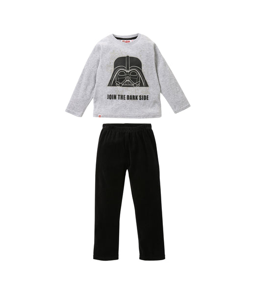 Boys Velour Pyjamas Star Wars - Grey