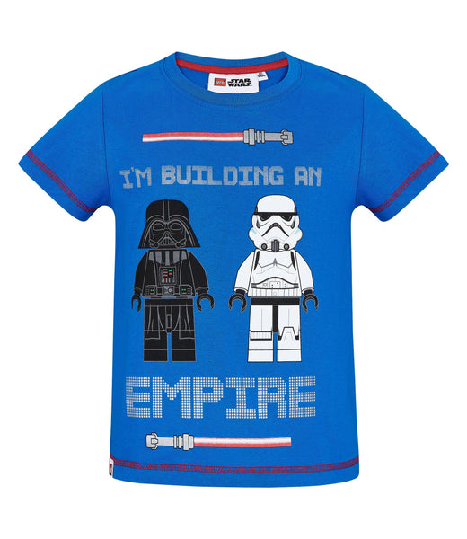 Boys T-Shirt Lego Star Wars - Blue
