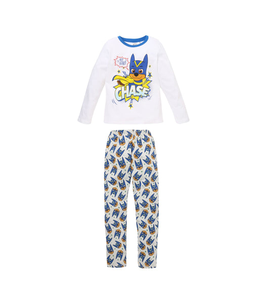 Boys Pyjamas Paw Patrol - White