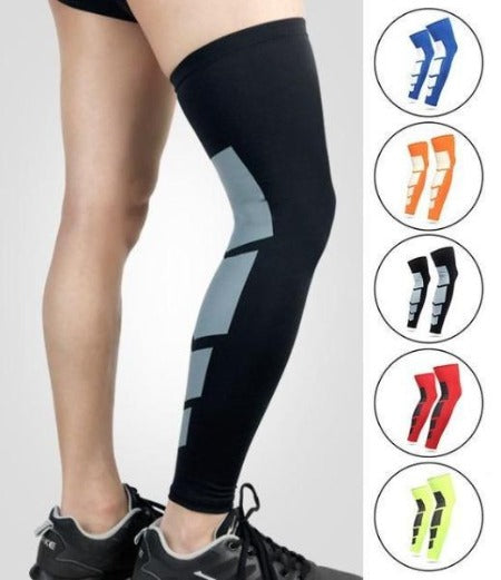 Thigh High Neoprene Compression Leg Sleeves Athletic Sports Leggings Pair - Affordable Compression Socks