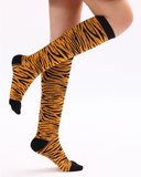 Animal Print Compression Socks - 20-30 mmHg Support Stockings