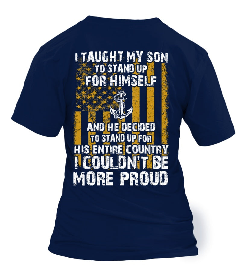 Shirt - Navy Mom Couldn't Be More Proud T-shirts