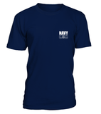 Shirt - Navy Mom Easy Raising Hero 2-Sides T-shirts