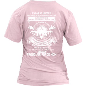 Air Force Mom The Silent Ranks Shirts - MotherProud