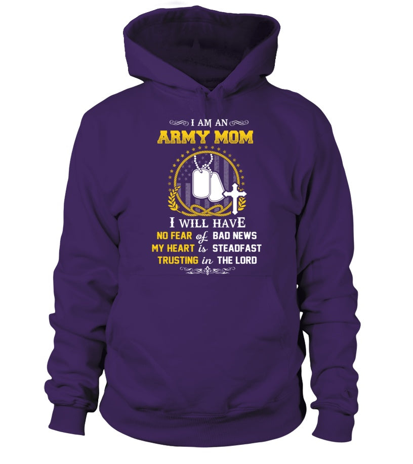 T-shirt - Army Mom Trusting In The Lord