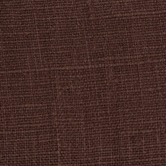 SAMPLE - Belgian Chocolate Brown 15 - 100% Linen 7.5 Oz (Medium Weight | 56 Inch Wide | Extra Soft) Solid | By Linen Fabric Store Online