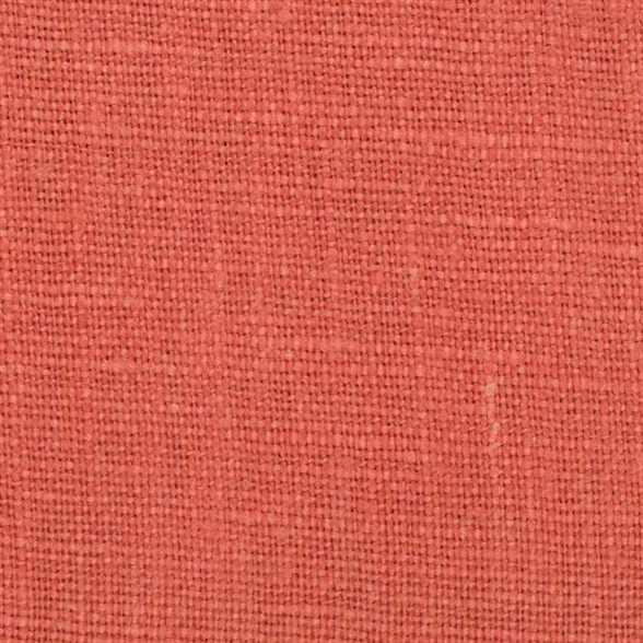 Belgian Orange 3 - 100% Linen 7.5 Oz (Medium Weight | 56 Inch Wide | Extra Soft) Solid