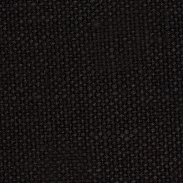 Brazil Black 1 - 100% Linen 12 Oz (Heavy/Medium Weight | 56 Inch Wide | Medium Soft) Solid