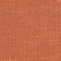 SAMPLE - French Orange 2 - 100% Linen 8.5 Oz (Medium Weight | 56 Inch Wide | Medium Soft) Solid