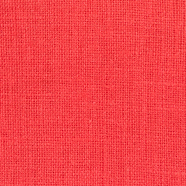 SAMPLE - Irish Orange 5 - 100% Linen 5.5 Oz (Light/Medium Weight | 56 Inch Wide | Extra Soft) Solid