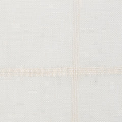 SAMPLE - Spain25 Off White White 1 - 100% Linen 3.5 Oz (Light/Medium Weight | 114 Inch Wide | Medium Soft) Wide Width Yarn Dye