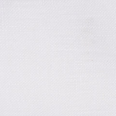 Swedish16 White 1 - 100% Linen 3 Oz (Light/Medium Weight | 107 Inch Wide | Medium Soft) Wide Width Yarn Dye
