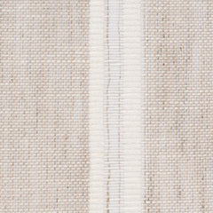SAMPLE - Swedish8 Natural Brown White 1 Linen Cotton 4 Oz (Light/Medium Weight | 114 Inch Wide | Medium Soft) Wide Width Yarn Dye