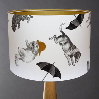 Raining Cats and Dogs Lampshade