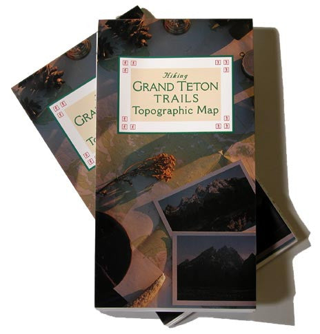 HIKING GRAND TETON TOPOGRAPHIC MAP