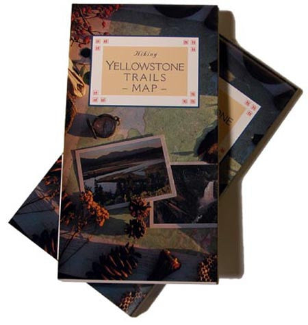 HIKING YELLOWSTONE TOPOGRAPHIC MAP-New Edition!