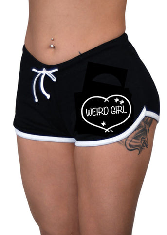 Weird Girl Shorts