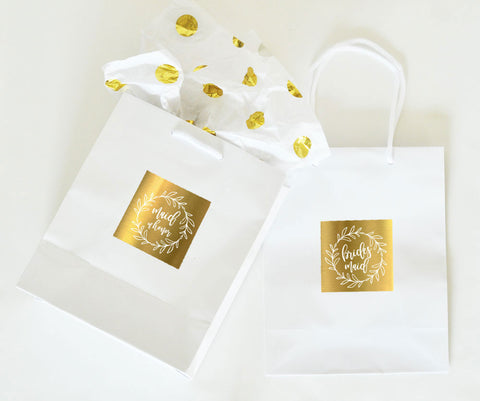 Bridal Party Gift Bags (set of 6) - Marry Me Wedding Accessories & Gifts