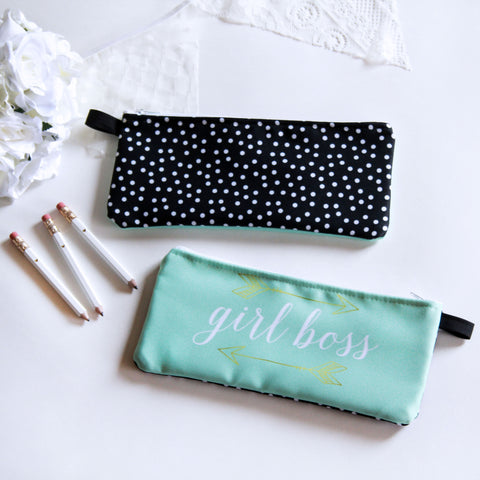 Pencil Case - Girl Boss - Marry Me Wedding Accessories & Gifts