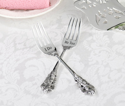 2 Forks - I Do & Me Too - Marry Me Wedding Accessories & Gifts