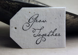 Large Printed Seed Paper Tags - Marry Me Wedding Accessories & Gifts