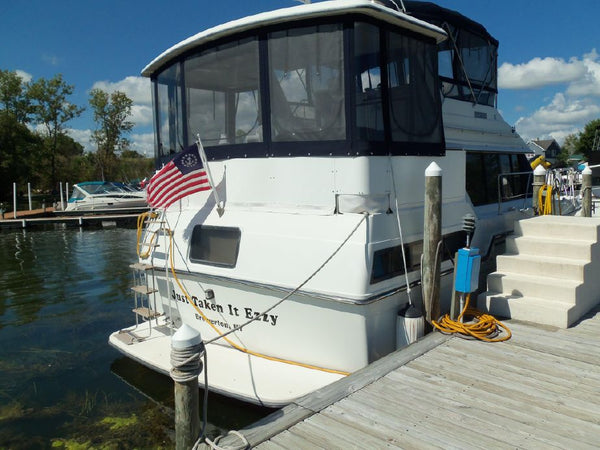 1988 Carver 3807 Aft Cabin Yacht