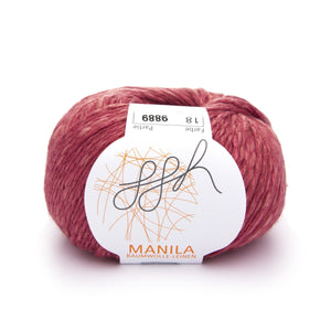 Manila 018, Terracotta, Cotton, Linen & Viscose blend, 50g, - I Wool Knit