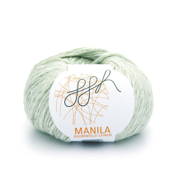 ggh, Manila 022, pale lime green, Cotton, Linen & Viscose blend, 50g, - I Wool Knit