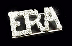 ERA Faux Diamond Brooch