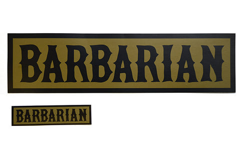 BARBARIAN Bumper Sticker